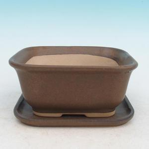 Bonsai pot podmiska + H37, brown