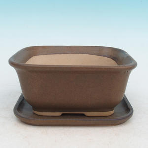 Bonsai pot podmiska + H36, brown
