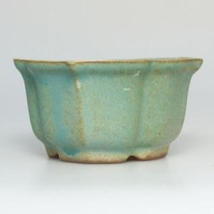 Ceramic bonsai bowl H 95 - 7 x 7 x 4,5 cm