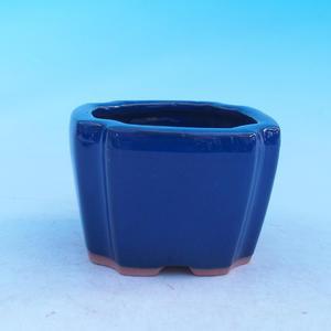 Ceramic bonsai bowl - cascade, Brown