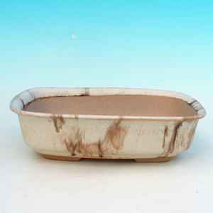 Ceramic bonsai bowl H 02