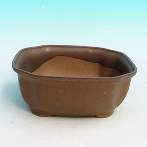 Bonsai ceramic bowl H 31, Brown