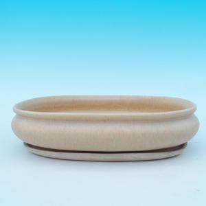 Bonsai pot podmiska + H15, beige