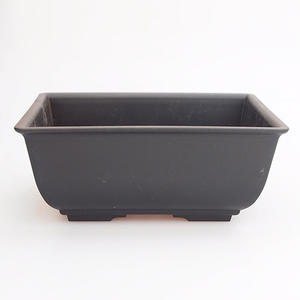 Bonsai plastic bowl MP-1, black
