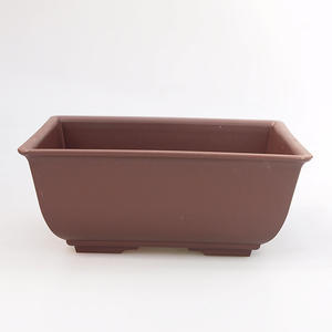 Bonsai plastic bowl MP-1, brown