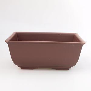 Bonsai plastic bowl MP-1, brown