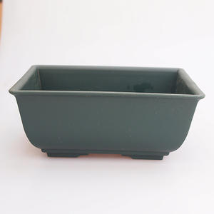 Bonsai plastic bowl MP-1, green