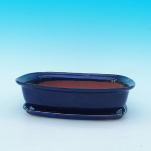 Bonsai pot podmiska + H09, Blue