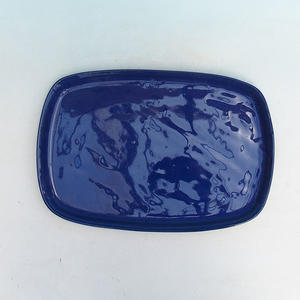 Bonsai tray of water H10, blue