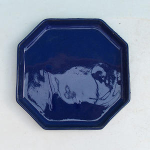 Bonsai tray of water H 13, blue