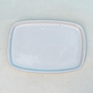 Bonsai tray of water H 02p, white