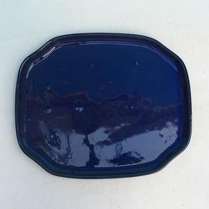 Bonsai tray of water H 32, blue