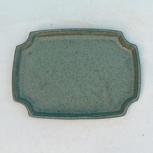 Bonsai water tray H 03 - 16,5 x 11,5 x 1 cm, blue - 16.5 x 11.5 x 1 cm