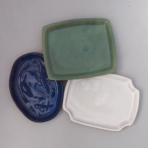 Bonsai tray B-3-paired with bonsai shape, color