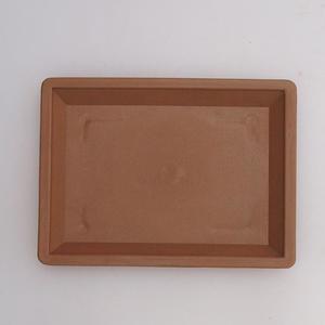 Bonsai plastic tray of water PP-1, beige