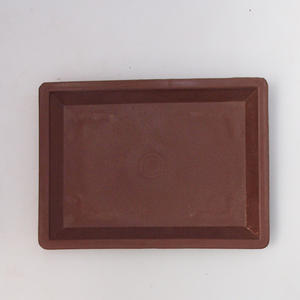Bonsai plastic tray of water PP-1, brown