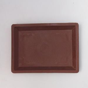 Bonsai plastic tray of water PP-1, brown