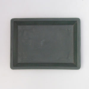 Bonsai plastic tray of water PP-1, green
