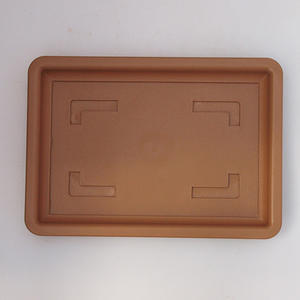 Bonsai plastic tray of water PP-2vacl, beige
