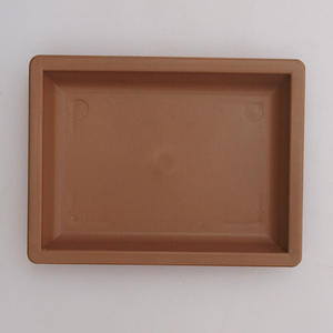 Bonsai plastic tray of water PP-3, beige