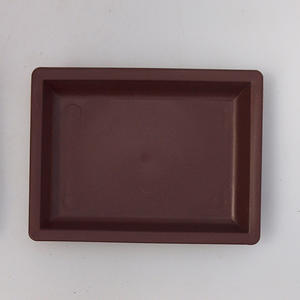 Bonsai plastic tray of water PP-3, brown