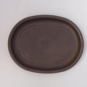 Bonsai plastic tray of water PP-4, brown