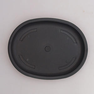 Bonsai plastic tray of water PP-4, green