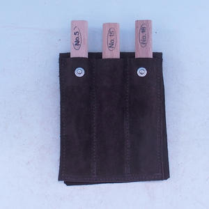 Set of 3-piece chisel in leather case - NO18, NO15, NO5