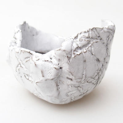 Ceramic Shell 7 x 7 x 5,5 cm, white color - 1