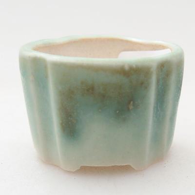Mini bonsai bowl 3 x 3 x 2 cm, color green - 1
