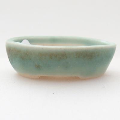 Mini bonsai bowl 4 x 3 x 1 cm, color green - 1