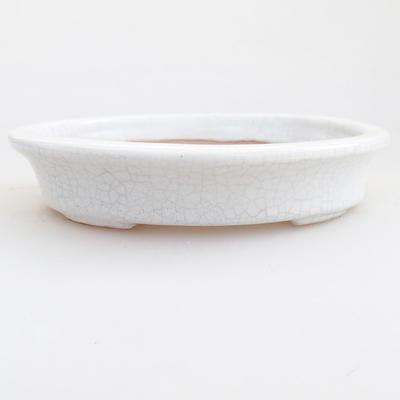 Ceramic bonsai bowl 12 x 10 x 2.5 cm, crayfish color - 1