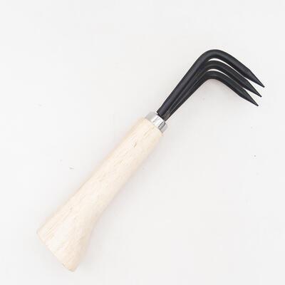 Ceramic bonsai bowl 14.5 x 14.5 x 4.5 cm, cracked color - 1