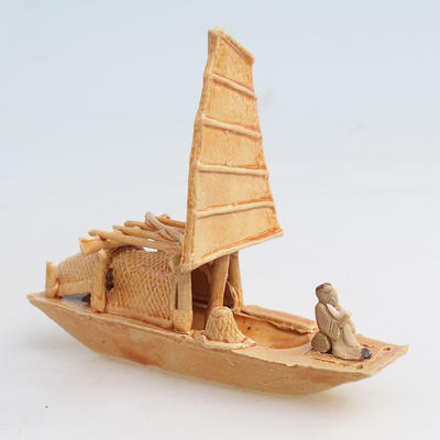 Ceramic figurine - ship - 1