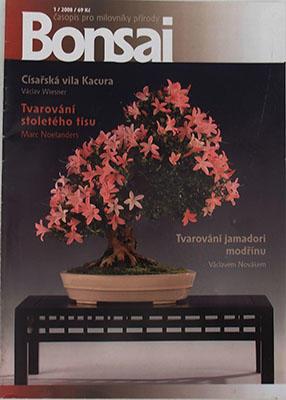 Bonsai magazine - CBA 2008-1