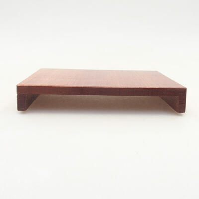 Wooden table under the bonsai brown 12 x 9 x 1.5 cm - 1