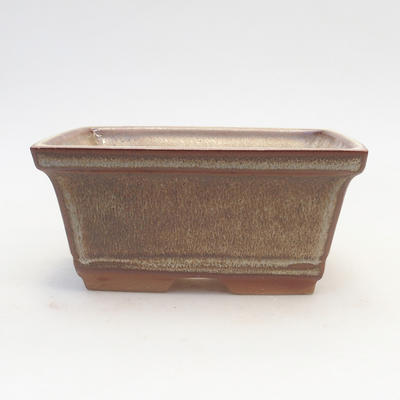 Bonsai bowl 14.5 x 12 x 7 cm, color brown - 1