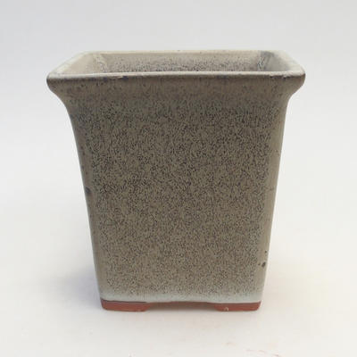 Bonsai bowl 11 x 11 x 11.5 cm, color gray - 1