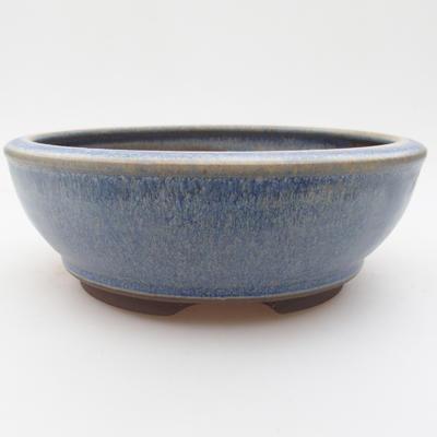 Ceramic bonsai bowl 16 x 16 x 5,5 cm, color blue - 1