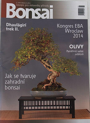 Bonsai magazine - CBA 2014-2