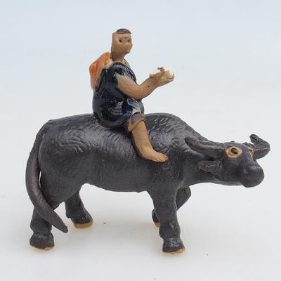 Ceramic figurine - buffalo - 1