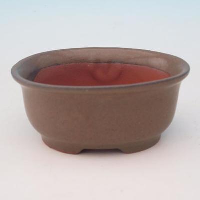 Ceramic bonsai bowl H 30 - 12 x 10 x 5 cm - 1