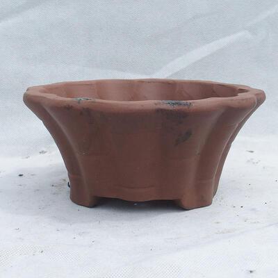 Bonsai bowl 29 x 29 x 13 cm, gray color - 1