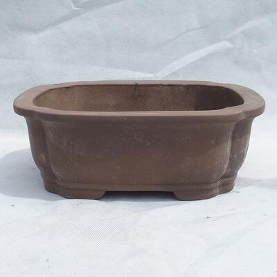 Bonsai bowl 31 x 25 x 11 cm, gray color - 1
