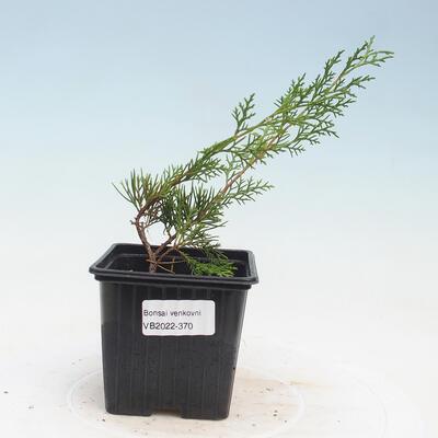 Ceramic bonsai bowl 9 x 9 x 4.5 cm, brown color - 1