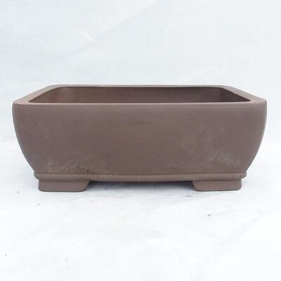 Bonsai bowl 34 x 26 x 13 cm, gray color - 1