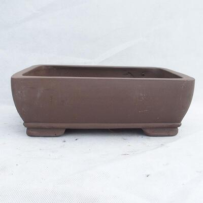Bonsai bowl 29 x 21 x 9.5 cm, gray color - 1