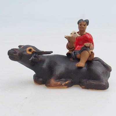 Ceramic figurine - buffalo - 1