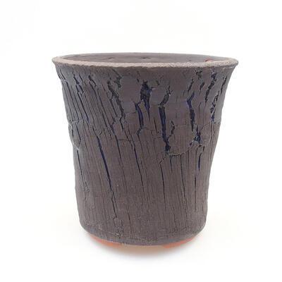 Ceramic bonsai bowl 14 x 14 x 13.5 cm, color blue - 1