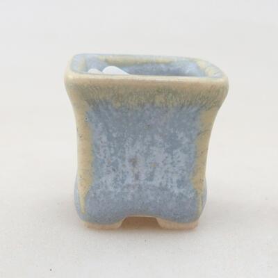 Mini bonsai bowl 2 x 2 x 2.5 cm, color blue - 1
